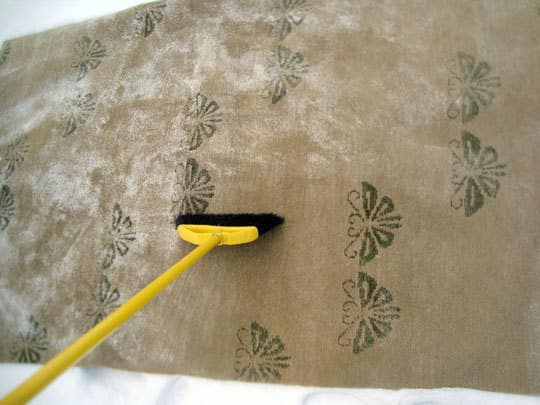 How To Clean a Wool Rug with Snow: gallery slide thumbnail 2