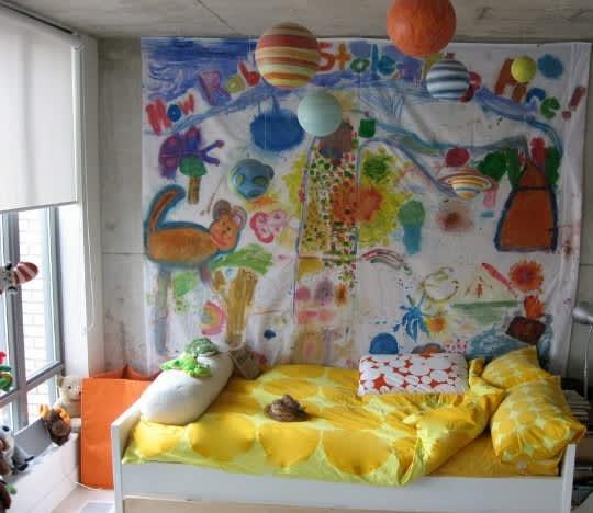 5 Easy DIY Wall Art Ideas: gallery slide thumbnail 4