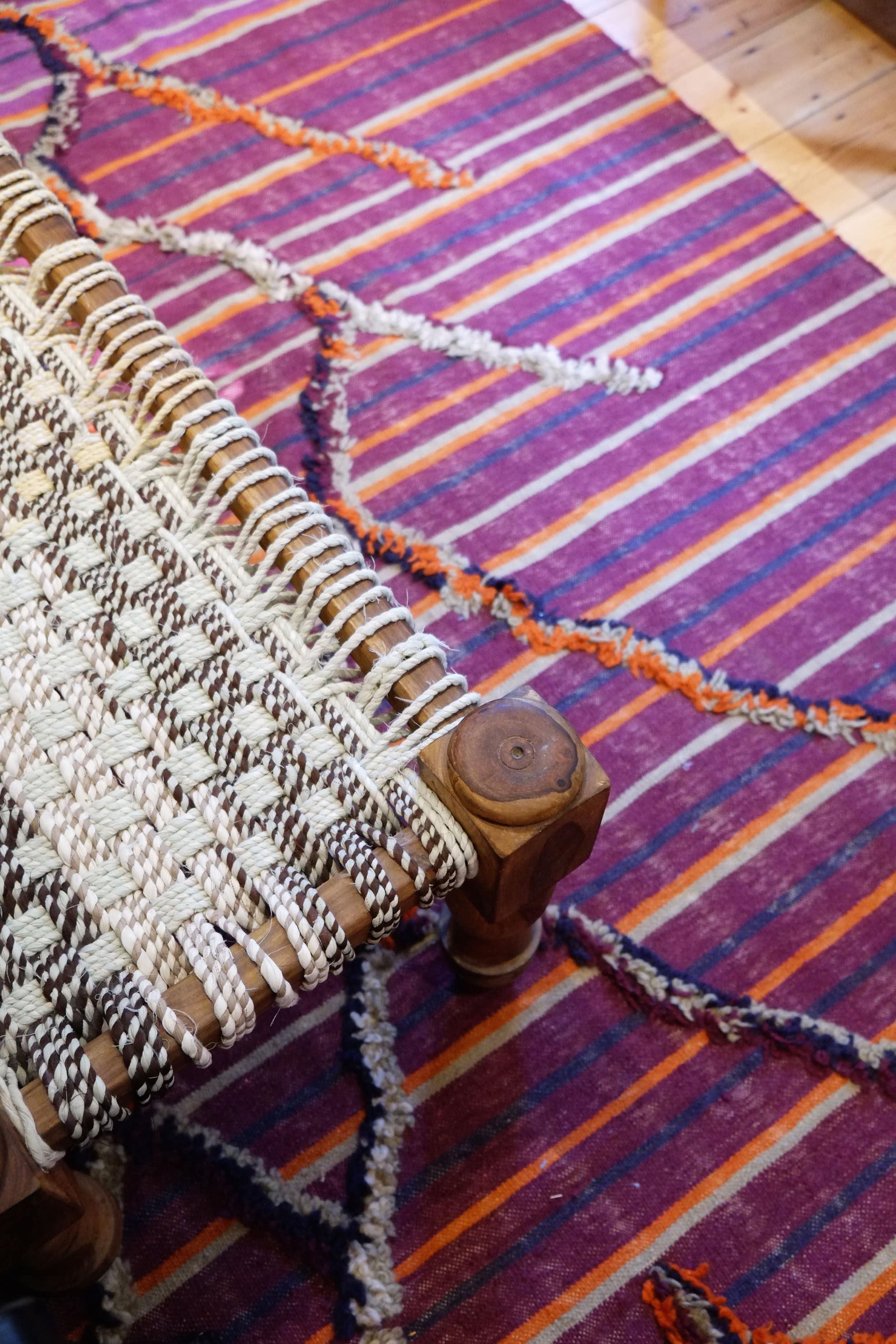 Colorful textiles