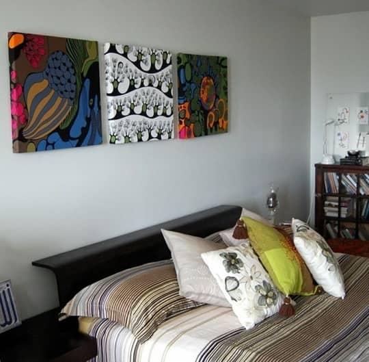 5 Easy DIY Wall Art Ideas: gallery slide thumbnail 2