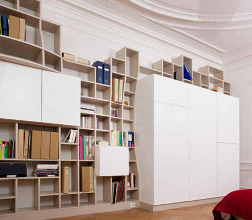 Swollen Wall Shelving & Storage by Paul Coudamy: gallery slide thumbnail 1