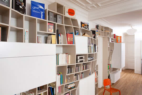 Swollen Wall Shelving & Storage by Paul Coudamy: gallery slide thumbnail 4