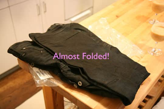 How To Clean Your Jeans Without Water (In the Freezer!): gallery slide thumbnail 4