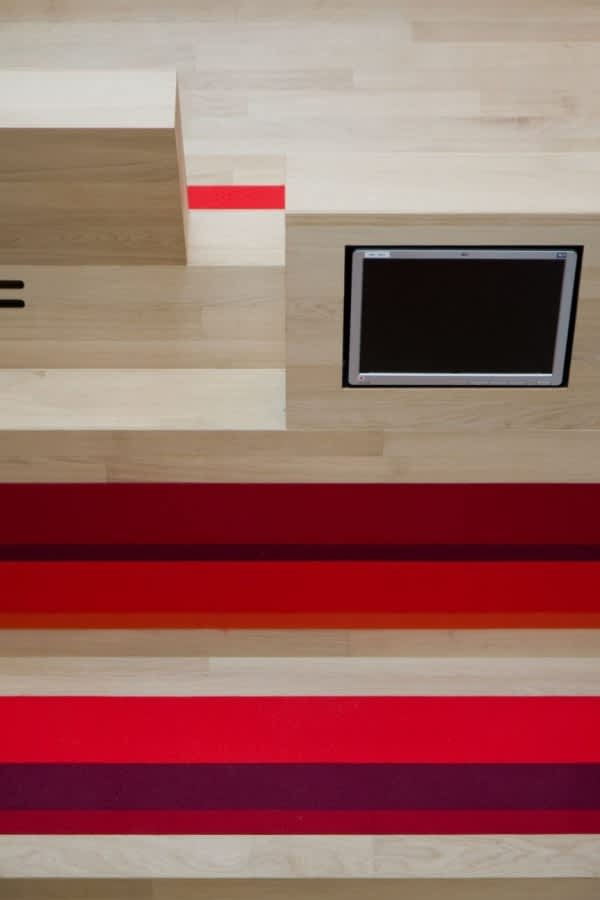 Dutch Campus Beautifully Integrates Computers Within Furniture: gallery slide thumbnail 2