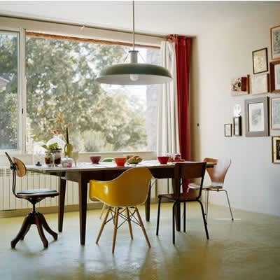 Mismatched Chairs for Family Dining: gallery slide thumbnail 5