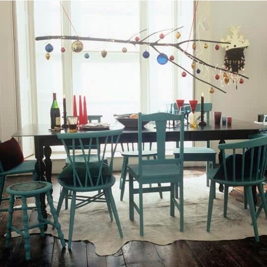 Mismatched Chairs for Family Dining: gallery slide thumbnail 4