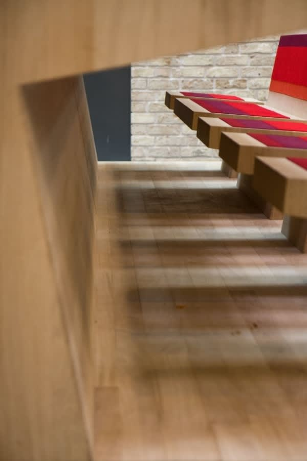 Dutch Campus Beautifully Integrates Computers Within Furniture: gallery slide thumbnail 5