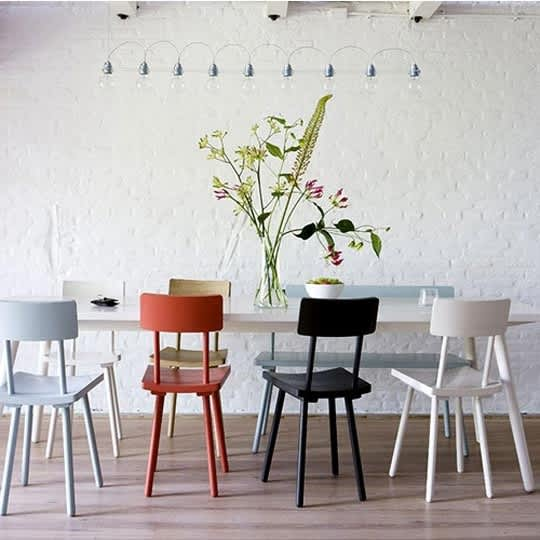 Mismatched Chairs for Family Dining: gallery slide thumbnail 6