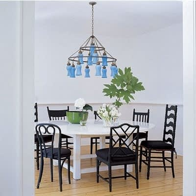 Mismatched Chairs for Family Dining: gallery slide thumbnail 8