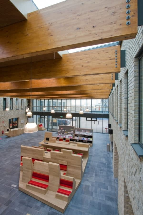 Dutch Campus Beautifully Integrates Computers Within Furniture: gallery slide thumbnail 8