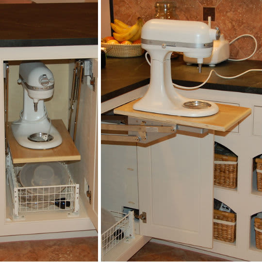 Storing a Stand Mixer, 4 Ways: gallery slide thumbnail 1