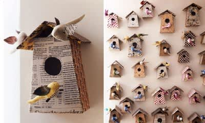 Inspiration: Decorating With Old Book Pages: gallery slide thumbnail 1