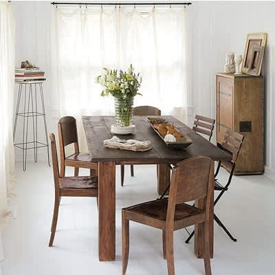 Mismatched Chairs for Family Dining: gallery slide thumbnail 1