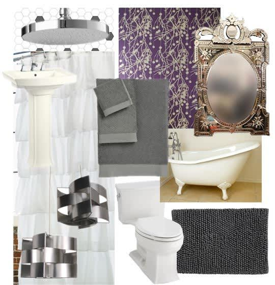 A Girly, Eclectic Bathroom: gallery slide thumbnail 7