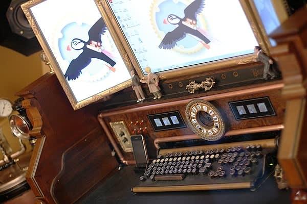 Bruce Rosenbaum's Steampunk All-in-One Desktop: gallery slide thumbnail 2