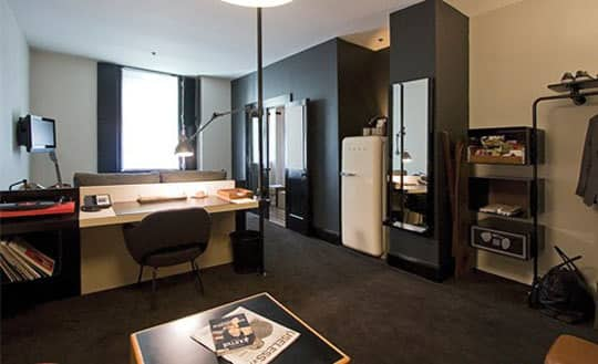 10 Small Space Solutions from Hotels: gallery slide thumbnail 9