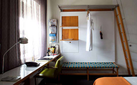 10 Small Space Solutions from Hotels: gallery slide thumbnail 8