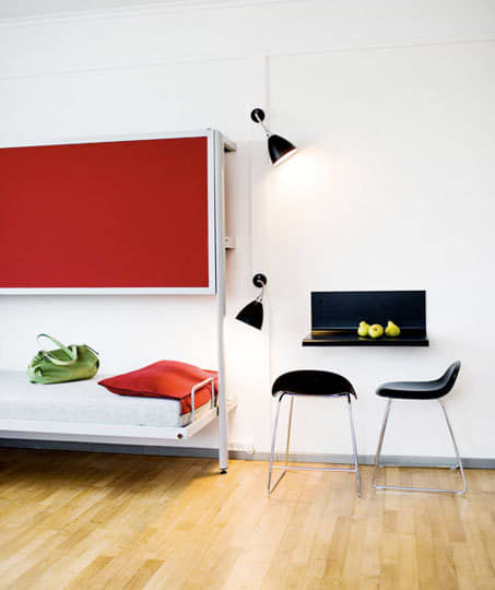 10 Small Space Solutions from Hotels: gallery slide thumbnail 2