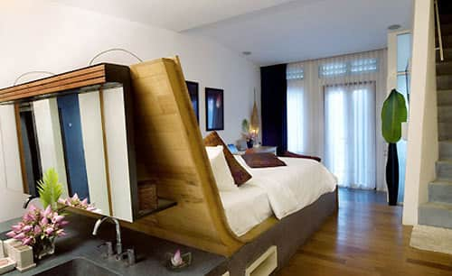 10 Small Space Solutions from Hotels: gallery slide thumbnail 10