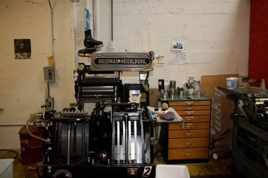 Hello!Lucky's Cozy Letterpress Studio: gallery slide thumbnail 23
