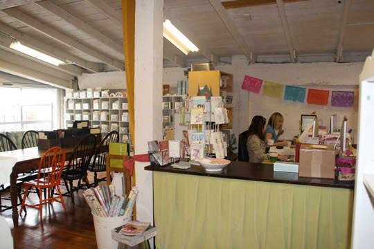 Hello!Lucky's Cozy Letterpress Studio: gallery slide thumbnail 13