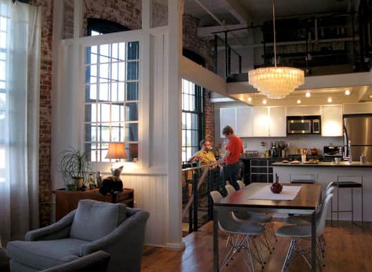 Richard & Julie's Elegant Industrial Loft: gallery slide thumbnail 8
