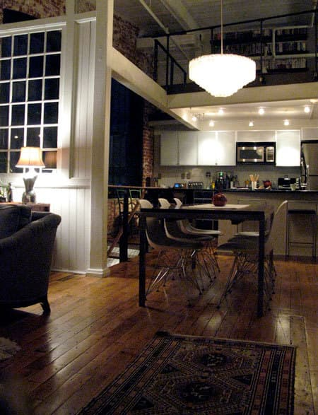 Richard & Julie's Elegant Industrial Loft: gallery slide thumbnail 4