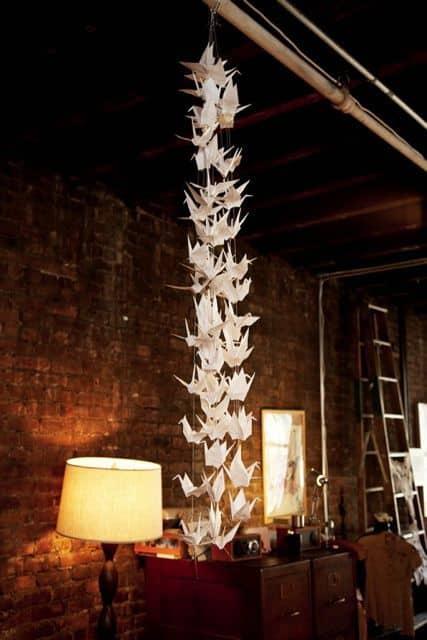 Paper Crane Decor: gallery slide thumbnail 6