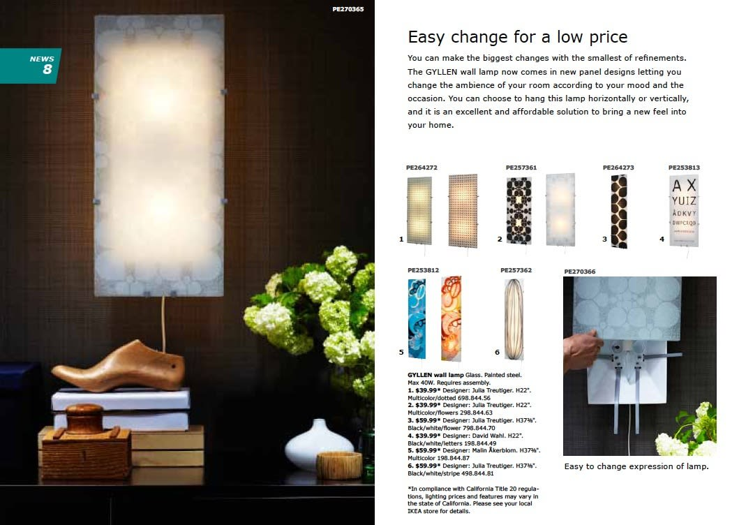 IKEA 2011 Catalog Sneak Peek: Desks, LEDs & Appliances: gallery slide thumbnail 9