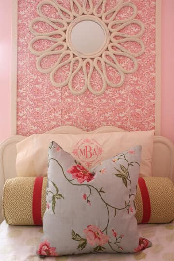 Budget Style: Pretty in Pink Shared Room for Under $250: gallery slide thumbnail 5