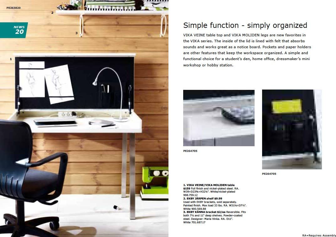 IKEA 2011 Catalog Sneak Peek: Desks, LEDs & Appliances: gallery slide thumbnail 6
