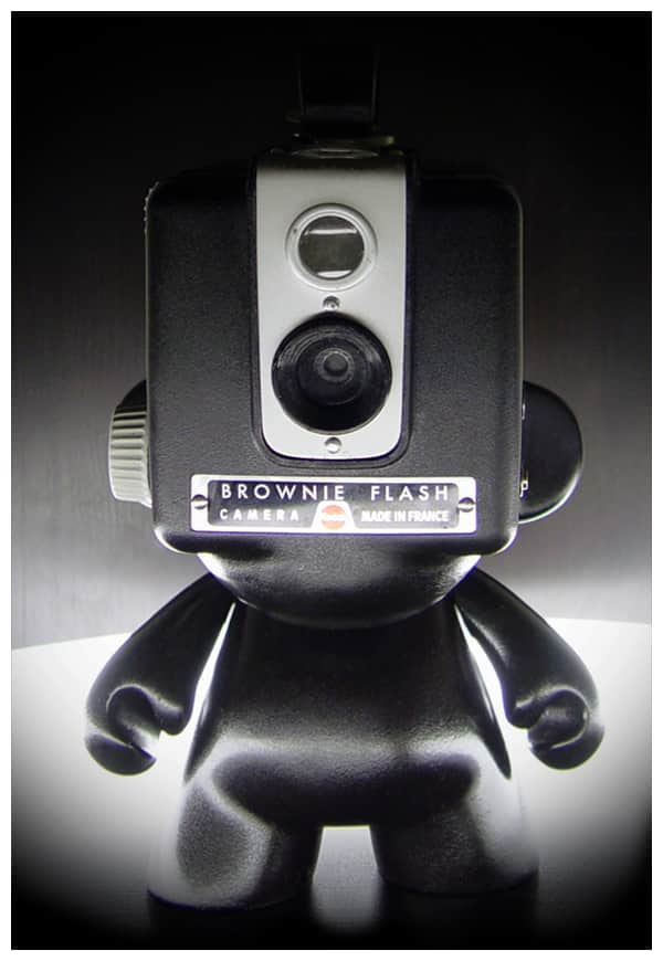 Vinyl Figure + Vintage Kodak Brownie = Drool on Our Desks: gallery slide thumbnail 7