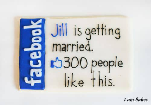Tweets & Sweets To Announce Your Big Day: gallery slide thumbnail 3