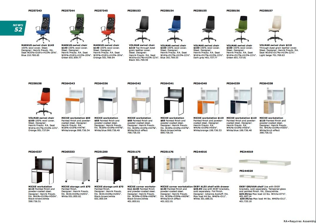 IKEA 2011 Catalog Sneak Peek: Desks, LEDs & Appliances: gallery slide thumbnail 3