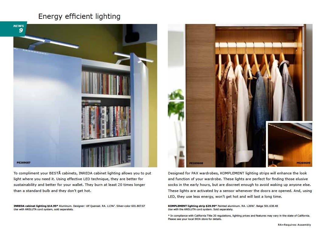 IKEA 2011 Catalog Sneak Peek: Desks, LEDs & Appliances: gallery slide thumbnail 10