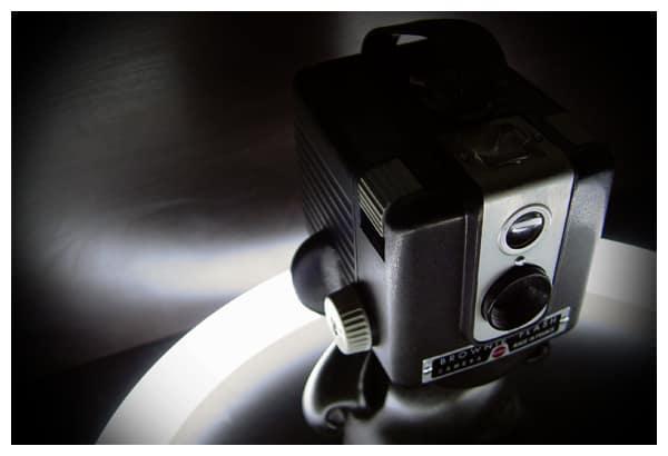 Vinyl Figure + Vintage Kodak Brownie = Drool on Our Desks: gallery slide thumbnail 4