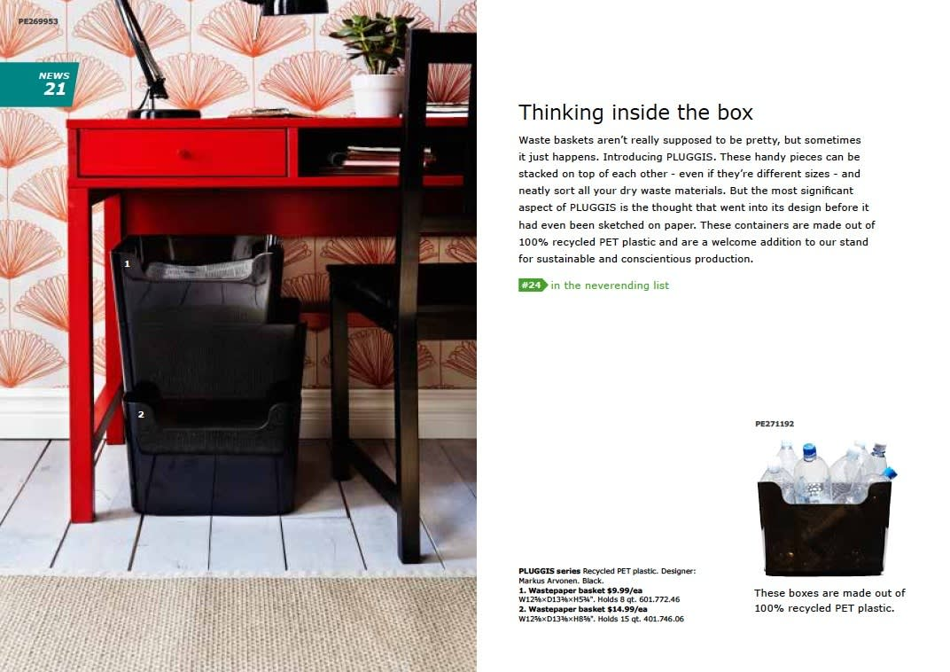 IKEA 2011 Catalog Sneak Peek: Desks, LEDs & Appliances: gallery slide thumbnail 7