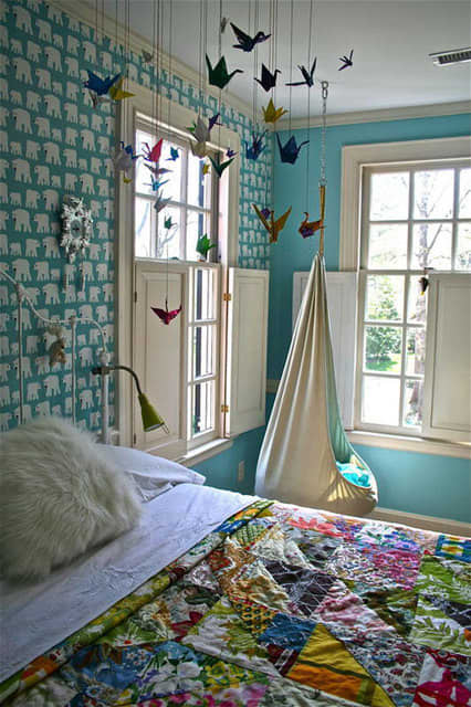 Paper Crane Decor: gallery slide thumbnail 5
