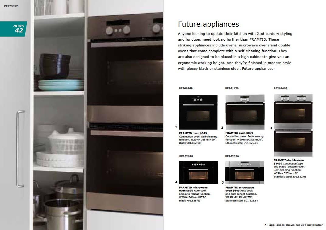 IKEA 2011 Catalog Sneak Peek: Desks, LEDs & Appliances: gallery slide thumbnail 1