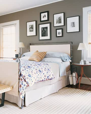 3 Easy Ways To Dress Up A Metal Bed Frame: gallery slide thumbnail 1