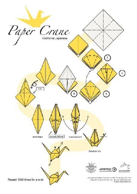 Paper Crane Decor: gallery slide thumbnail 3