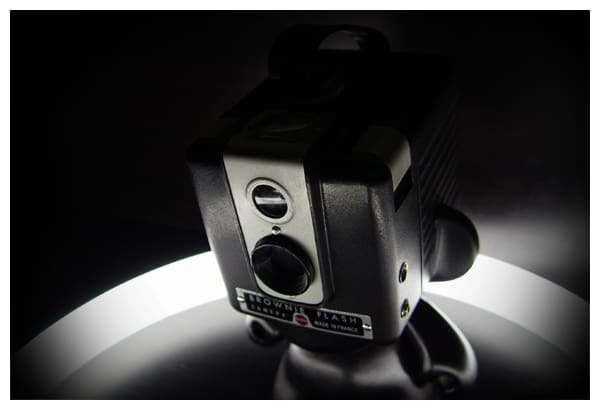 Vinyl Figure + Vintage Kodak Brownie = Drool on Our Desks: gallery slide thumbnail 2