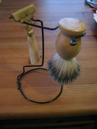 The Old-Fashioned Shave on Display: gallery slide thumbnail 8