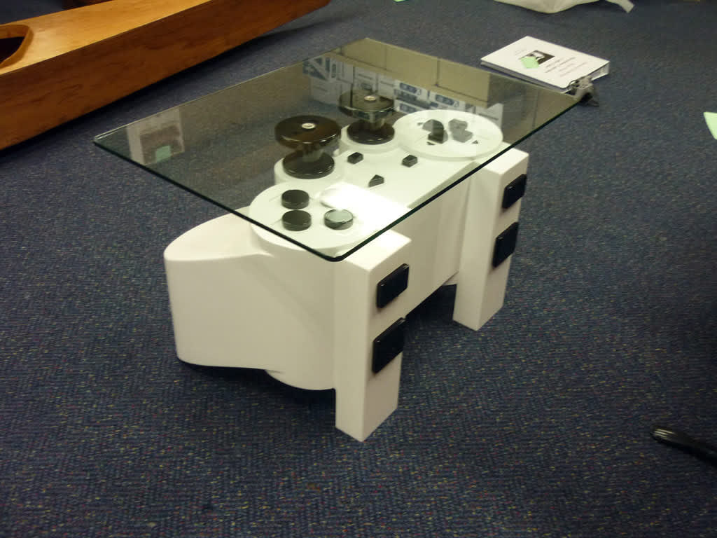 PlayStation Controller Coffee Table: gallery slide thumbnail 5