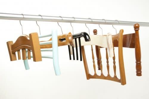 Abitudini Chair Back Hangers by Resign: gallery slide thumbnail 1