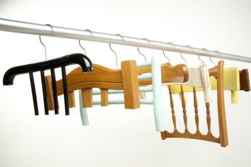 Abitudini Chair Back Hangers by Resign: gallery slide thumbnail 2
