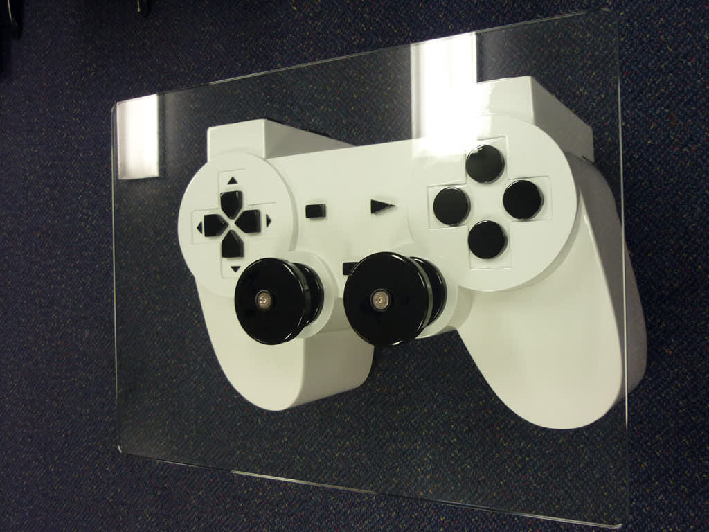 PlayStation Controller Coffee Table: gallery slide thumbnail 2