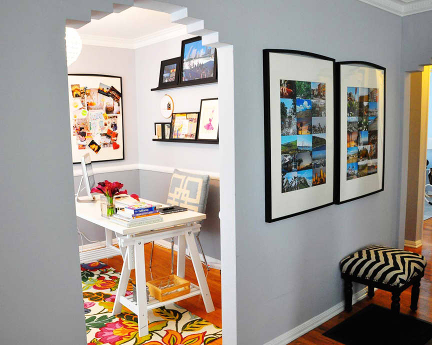 Rebecca's Loving Living Small Home Office: gallery slide thumbnail 18