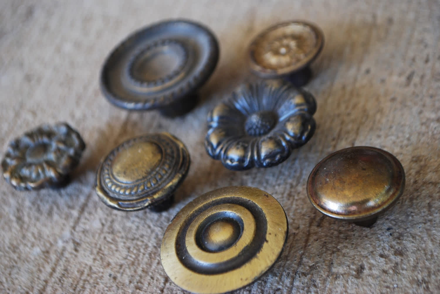 Functional Vintage Adornments for the Home: gallery slide thumbnail 7