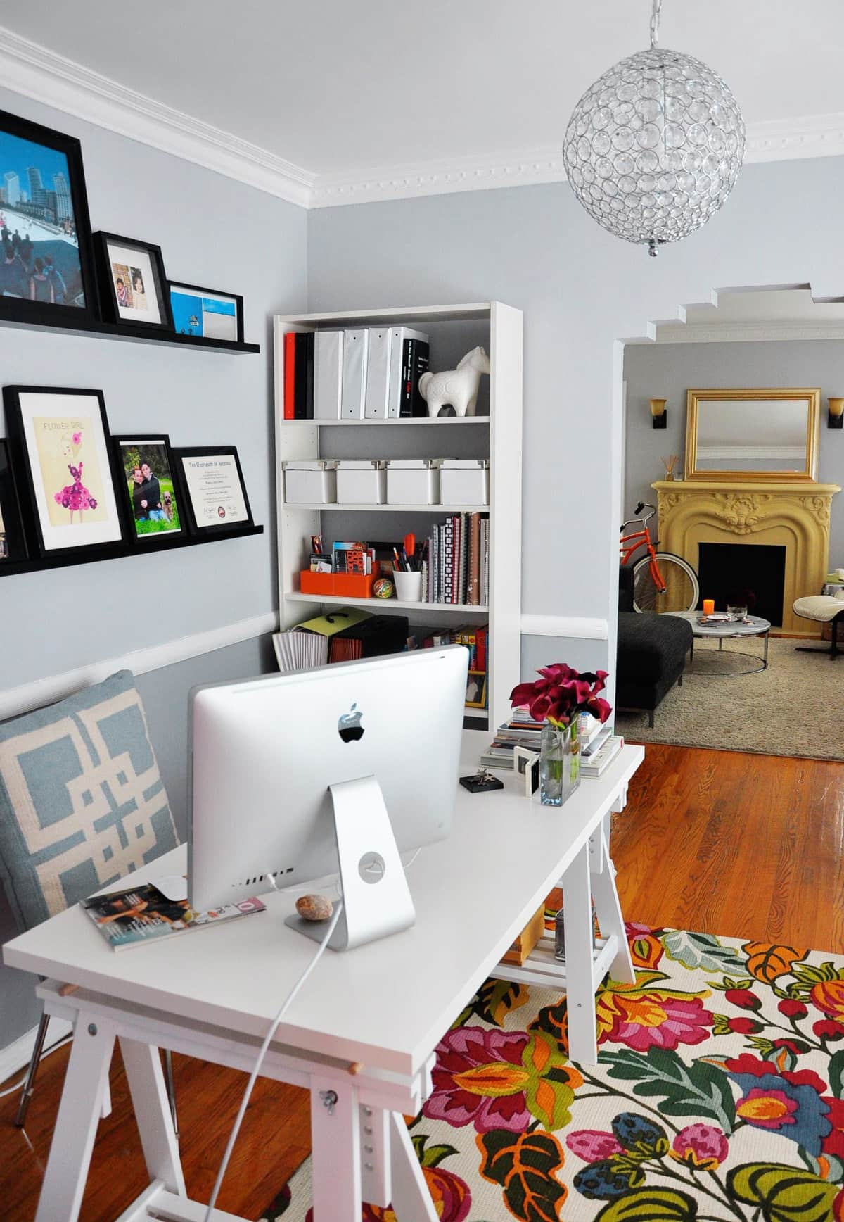Rebecca's Loving Living Small Home Office: gallery slide thumbnail 19